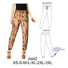 Resultado de imagen para pantalones de fibrana moldes
