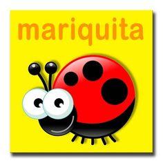Mariquita caricatura - Imagui