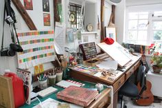 Illustrator Jim Kay's studio