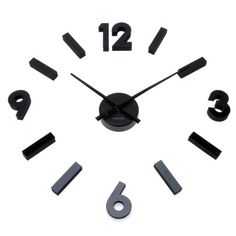 Wall Clock - DIY Maxi Numbers