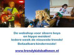 www.trendykidsbathmen.nl de webshop voor trendy en betaalbare kinderkleding