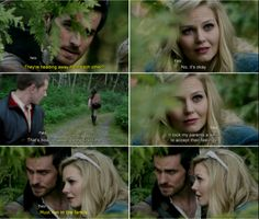 """""""Must run in the family."""" - Hook and Emma , #CaptainSwan, - """"There's No Place Like Home"""" - 3 *22"""