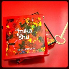 Keep your secrets hidden in the limited edition Mika for shu uemura compact