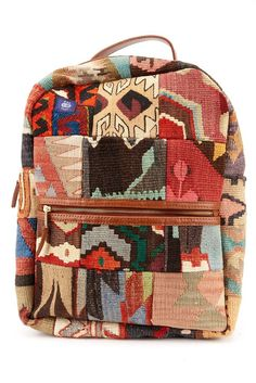 The kilim backpack you need, and the kilim backpack you deserve.