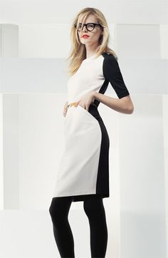 Colorblock Sheath Dress - Great work wear !