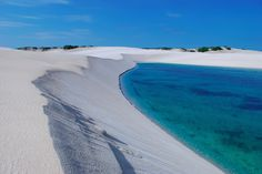 It's Not A Mirage: National Park In Brazil Is A Desert Filled With Water
