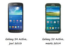 #Samsung: #GalaxyS5Active vs #GalaxyS4Active