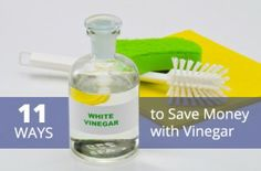 11 Alternative Vinegar Uses: What You Don't Know Could Be Saving You Money Now!