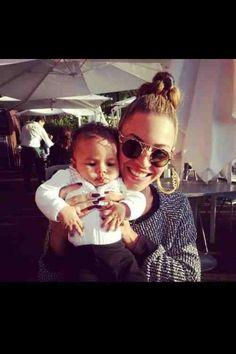 Beyonce && Blue Ivy.