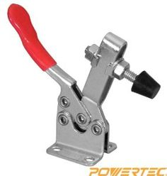 Horizontal Quick-Release Toggle Clamp, 300 lbs Capacity