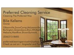Cleaning Special For First Time Customers