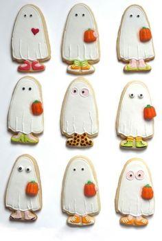 Pour Halloween, on imagine souvent des gâteaux effrayants. Mais cette année, on a sélectionné les biscuits mignons repéré sur le réseau social Pinterest. Des gourmandises qu