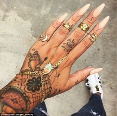 black shell tattoo on finger - Google Search