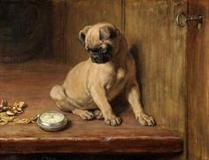 Briton Riviere 1840–1920 British, English Tick-Tick