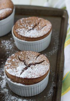 Chocolate Almond Souffle - Blahnik Baker