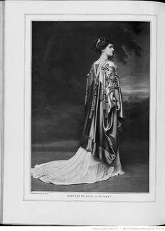 Les Modes : revue mensuelle illustrée des Arts décoratifs appliqués à la femme | 1908-09 | Gallica