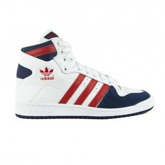 Decade OG Mid White Blue Red