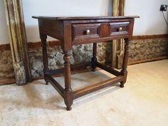 Table Stunning James II Oak Hall Lamp C1690 - Antiques Atlas