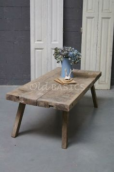 Tafels - Landelijke oude brocante tafels: eettafels salontafels ...