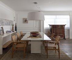Open house | Renée Sbrana. Veja: http://casadevalentina.com.br/blog/detalhes/open-house--renee-sbrana-3214 #decor #decoracao #interior #design #casa #home #house #idea #ideia #detalhes #details #openhouse #style #estilo #casadevalentina #diningroom #saladejantar
