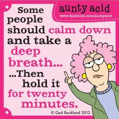 Must we teach everyone to swim?   WOW, Thank you everyone our new book Aunty Acid's Guide to Life has gone straight to Number 2 in the hot 100 new humor releases on Amazon.com. Check it out and have a look inside here http://www.amazon.com/Aunty-Presents-Humor-Bites-calendar/dp/1416294821/ref=sr_1_1?s=books=UTF8=1376251265=1-1=aunty+acid