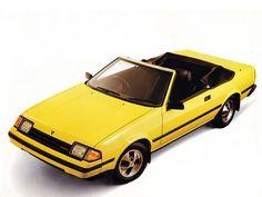 Toyota Celica Sunchaser Convertible (1982 – 1985).