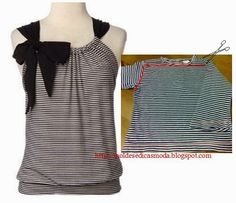 RECYCLAGE T-Shirts | Coupe et couture