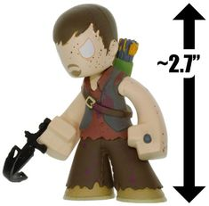 Bloody Daryl: 2.7 Walking Dead x Funko Mystery Minis Vinyl Mini-Figure Series [VERY RARE] @ niftywarehouse.com