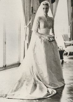 Grace Kelly en robe de mariée - La Fiancée du Panda blog Mariage & Lifestyle