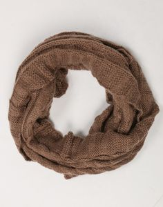Soft Chunky Knit Scarf - Brown Scarf - Oversize Scarf – Accessories – 2020AVE  #2020AVEXFALL