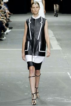 Alexander Wang Spring 2013 Ready-to-Wear Fashion Show - Suvi Koponen