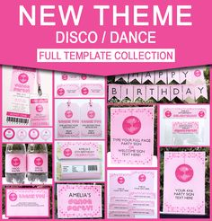 Kiara\'s 7 Year Old Disco Party   Pinterest   Disco party, Birthdays ...