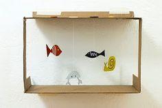 DIY: Paper fish bowl