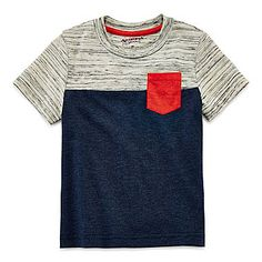 jcp | Arizona Short-Sleeve Pocket Tee – Boys 2t-5t