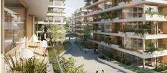 Neubau-Immobilien Berlin: Münchner Grund baut 520 Wohnungen in Berlin-Pankow. Bild: zanderrotharchitekten http://www.immobilien-zeitung.de/1000039189/muenchner-grund-baut-520-wohnungen-in-berlin-pankow