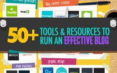 Here are the 50 must-have tools for all bloggers. Let this blogging tools and resources HELP YOU run an effective blog.