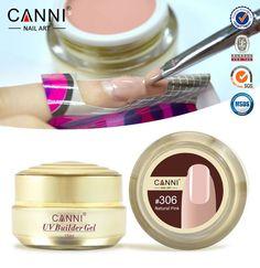 1PC 15ml CANNI Natural Nude Pastel Color UV Builder Gel Camouflage UV Gel Acrylic for Nail Art False Tips Extension 15 Colors *** Haga clic en la VISITA botón para una descripción detallada