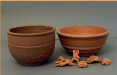 Samian mould and punches set