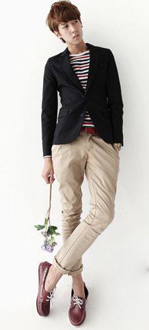 Pleated slim fit foldup pants #menstyle #menfashion #shoponline