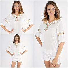 Unique&Delicate<3 #romanianblouse #iestilizata Delicate, Embroidery, Blouse, Unique, Collection, Tops, Women, Fashion, Moda