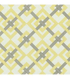 Home Decor Print Fabric- Waverly - Square Root Sterling