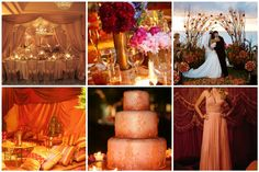 purple and orange wedding reception | Ideas For Wedding Reception (Source: ididjeridoo.com)
