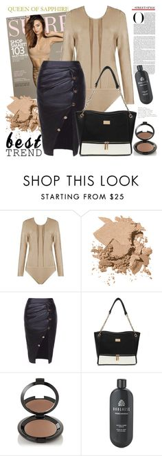 """QUEEN OF SAPPHIRE"" by gaby-mil ❤ liked on Polyvore featuring Kerr®, Bobbi Brown Cosmetics, Borghese and queenofsapphire"