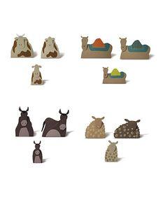 Boho Nativity Animals Set | Something special every day