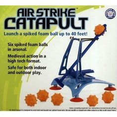 **ANY TOY CATAPULT Found them on Amazon for $15-25  Amazon.com: Hog Wild Toys Air Strike Catapult: Toys & Games