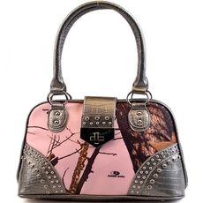 Mossy Oak® Camo Handbag - SILVER $45.95 http://www.sparklyexpressions.com/#1019