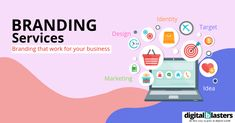 Make sure your brand identity leaves a mark with professional branding services. We help you stand out from the competition, target the right people, and communicate your message effectively.  #digitalblasters #digitalmarketing #digitalmarketingagency #marketingagency #seo #facebookmarketing #instagrammarketing #website #websitedevelopment #ads #pinterestmarketing #twittermarketing #socialmediamarketing #google #sales #revenue #growth #businesgrowth Branding Services, Corporate Branding, Business Branding, Business Marketing, Create Business Cards, Website Development Company, Digital Marketing Strategy, Pinterest Marketing, Brand Identity