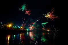 Fireworks @Legian Beach - Kuta , Bali, Indonesia by tropicaLiving - Jessy Eykendorp, via Flickr