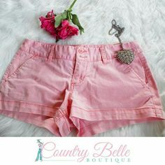 Pink moissimo shorts In excellent condition. Size 3 Mossimo Supply Co Shorts