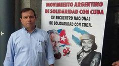 """""""FUI 15 AÑOS PRESO POLITICO DE EEUU"""": GONZALEZ LLORT UNO DE LOS CINCO HEROES CUBANOS   """"Vamos a defender y perfeccionar las ideas de Fidel"""" Imagínate pasar 15 años preso por cuestiones políticas en un país que no es el tuyo. Vos seguramente dirás: """"que falta de libertad seguro fue en una dictadura"""". Este hombre se llama Fernando González Llort. Es cubano. Estuvo preso durante 15 años en cárceles de EEUU acusado por una causa armada por el FBI. Después del calvario volvió más castrista y…"""